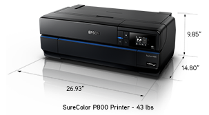 EPSON Printer Family inlcuding the Pro and P-Series range from